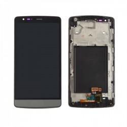 Ecran LG G3S D722 - LCD + Vitre tactile assemblée sur châssis