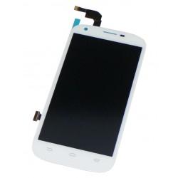 Ecran ZTE Q802 Blanc complet - Vitre tactile + Dalle LCD assemblé