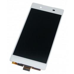 Ecran Complet LCD + Tactile assemblé Sony Xperia Z3 Plus Z4 E6553 Blanc