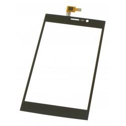Vitre Wiko Ridge Fab 4G Noir - écran tactile + Adhésif 3M