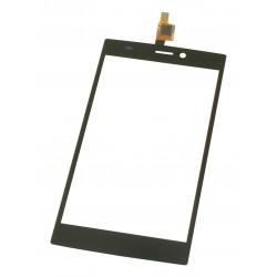 Vitre Wiko Ridge 4G Noir - écran tactile + Stickers de positionnement