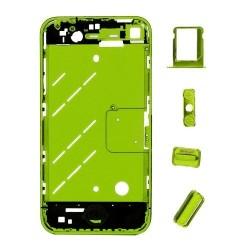 Châssis Ecran Vert iPhone 4S + boutons de remplacement