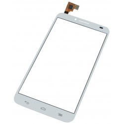 Vitre Alcatel Idol 2 One Touch Blanc - écran tactile OT6037