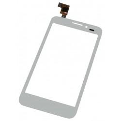 Vitre Alcatel Idol Ultra Blanc - écran tactile OT 7035 + Adhésif de fixation