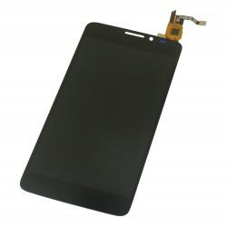 Ecran Alcatel Idol X complet -Vitre tactile + LCD assemblé + Adhésif 3M