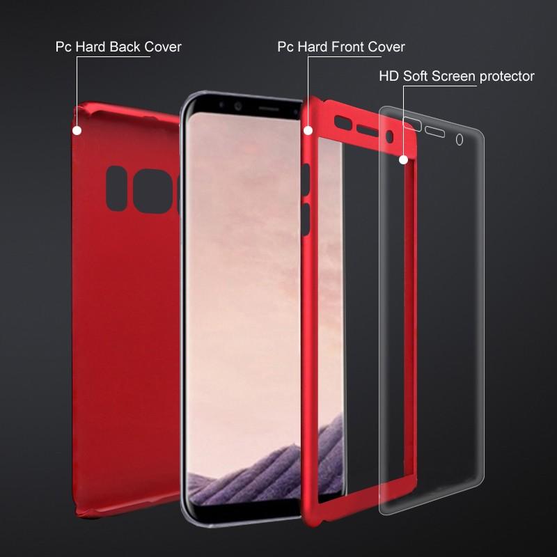 Housse de protection Samsung S8 360°