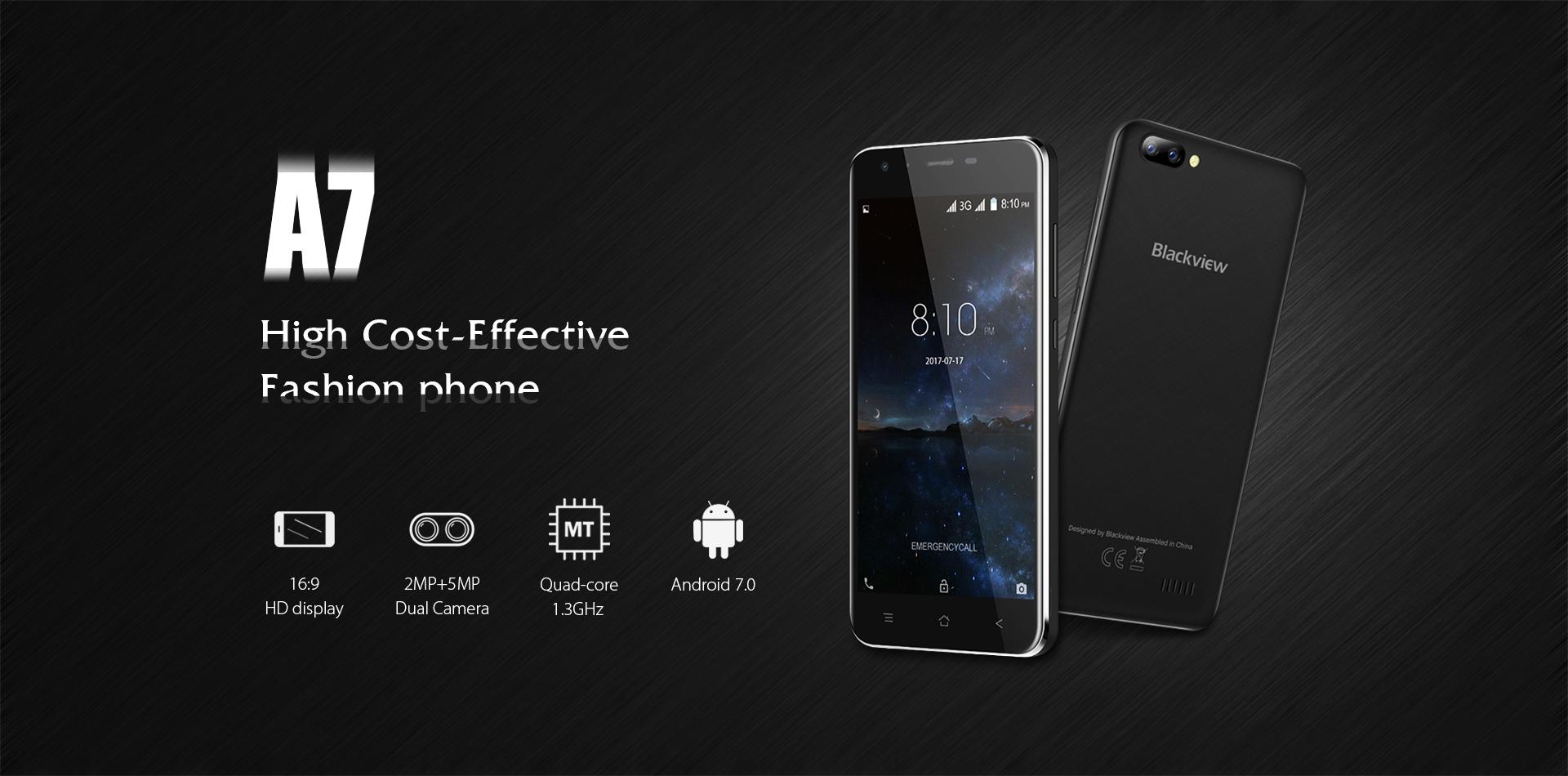 Smartphone Blackview A7 Pas cher