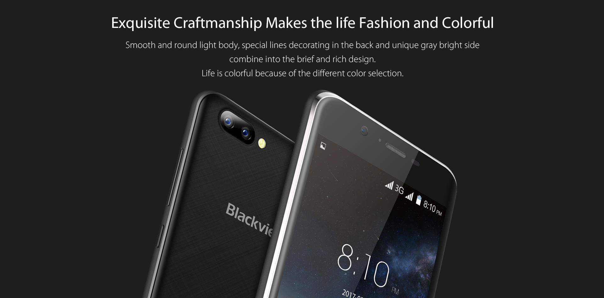 Promotion Blackview A7