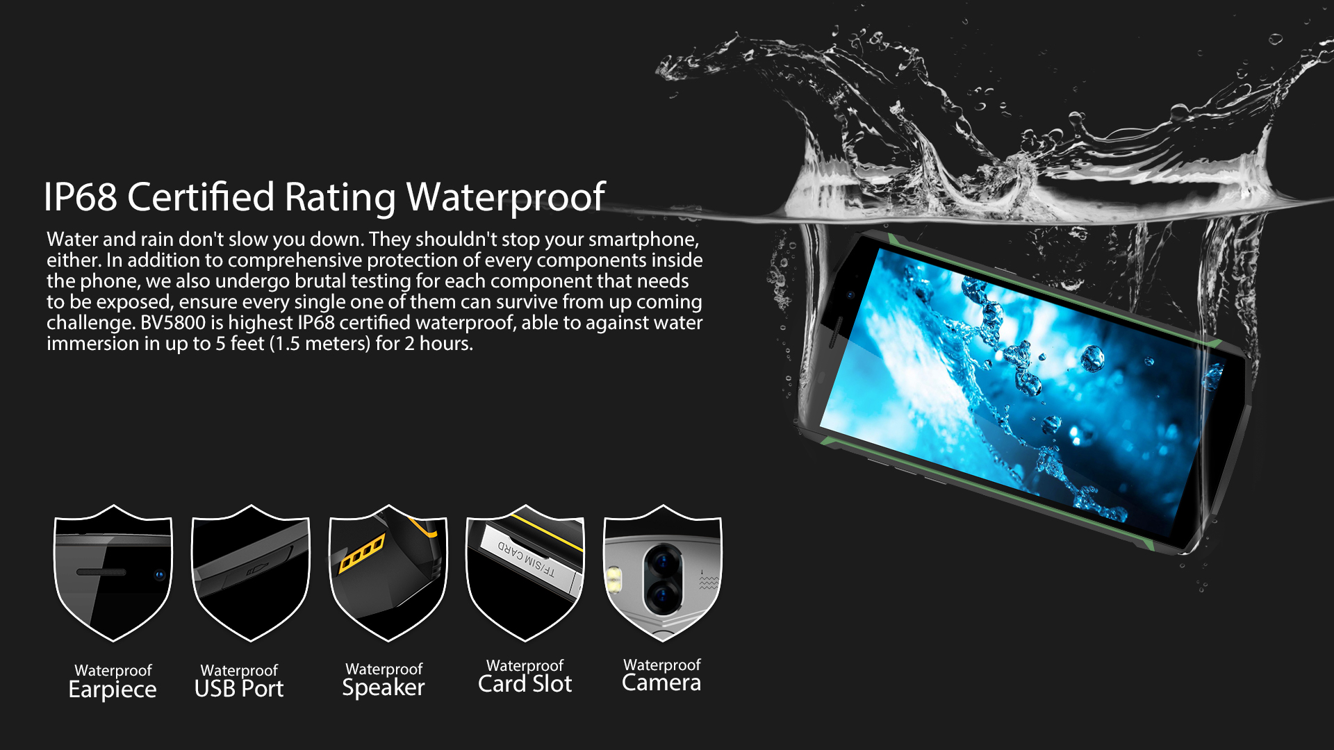 Smartphone Waterproof blackview
