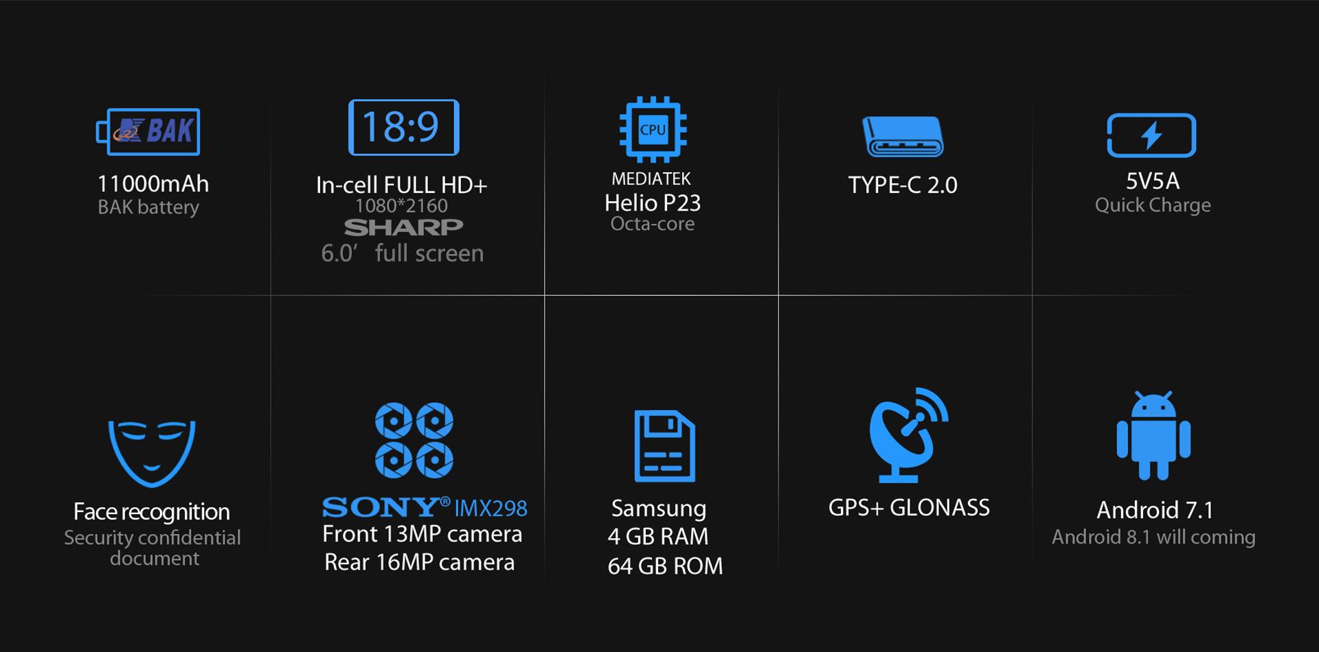 Smartphone P10000 Pro