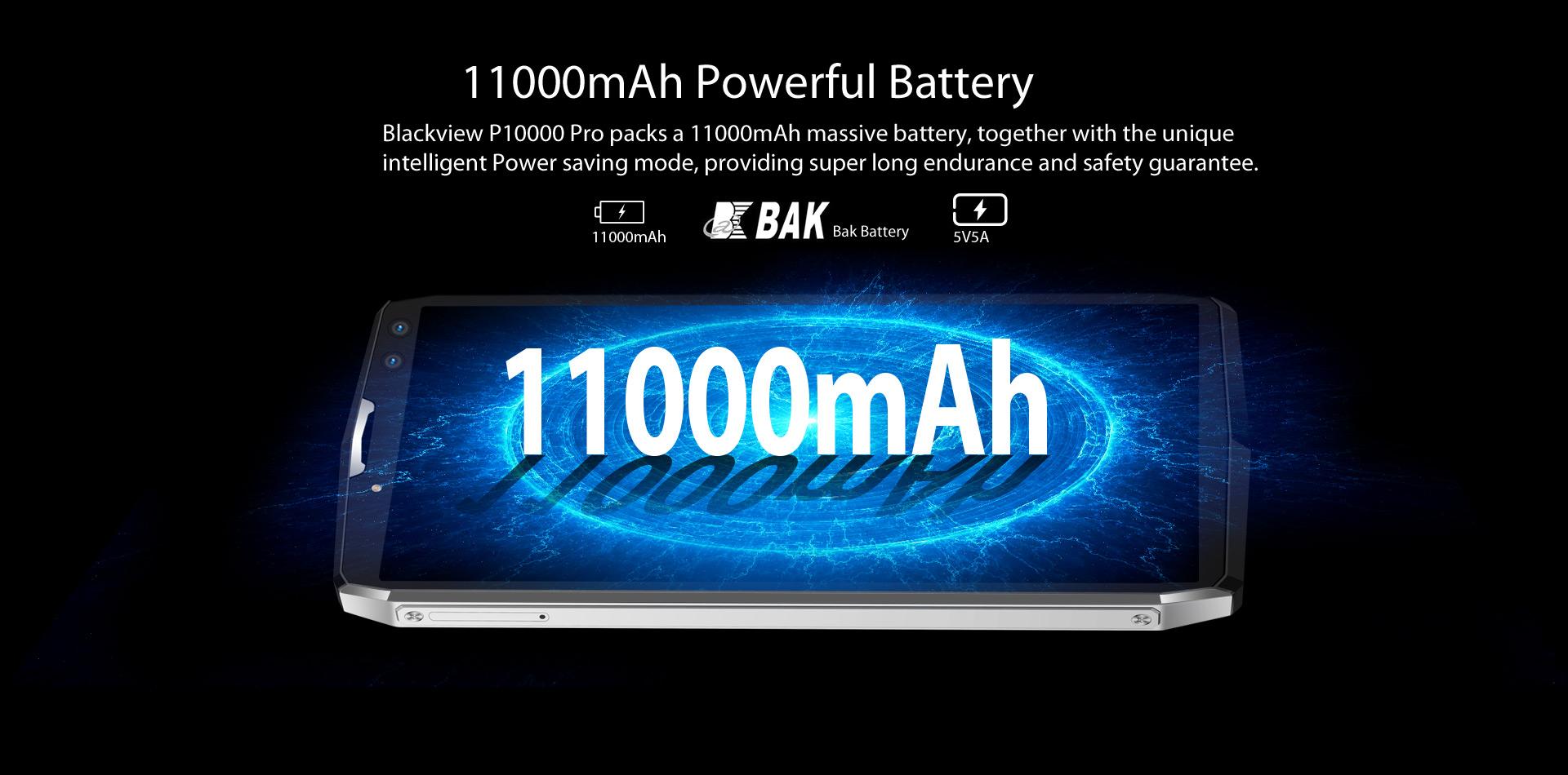 Fiche technique Blackview P10000 Pro
