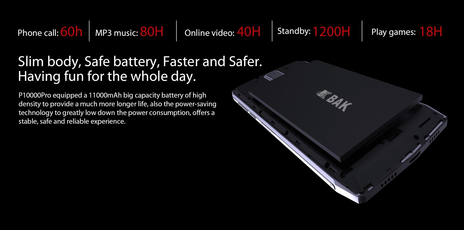 caractéristiques Blackview P10000 Pro