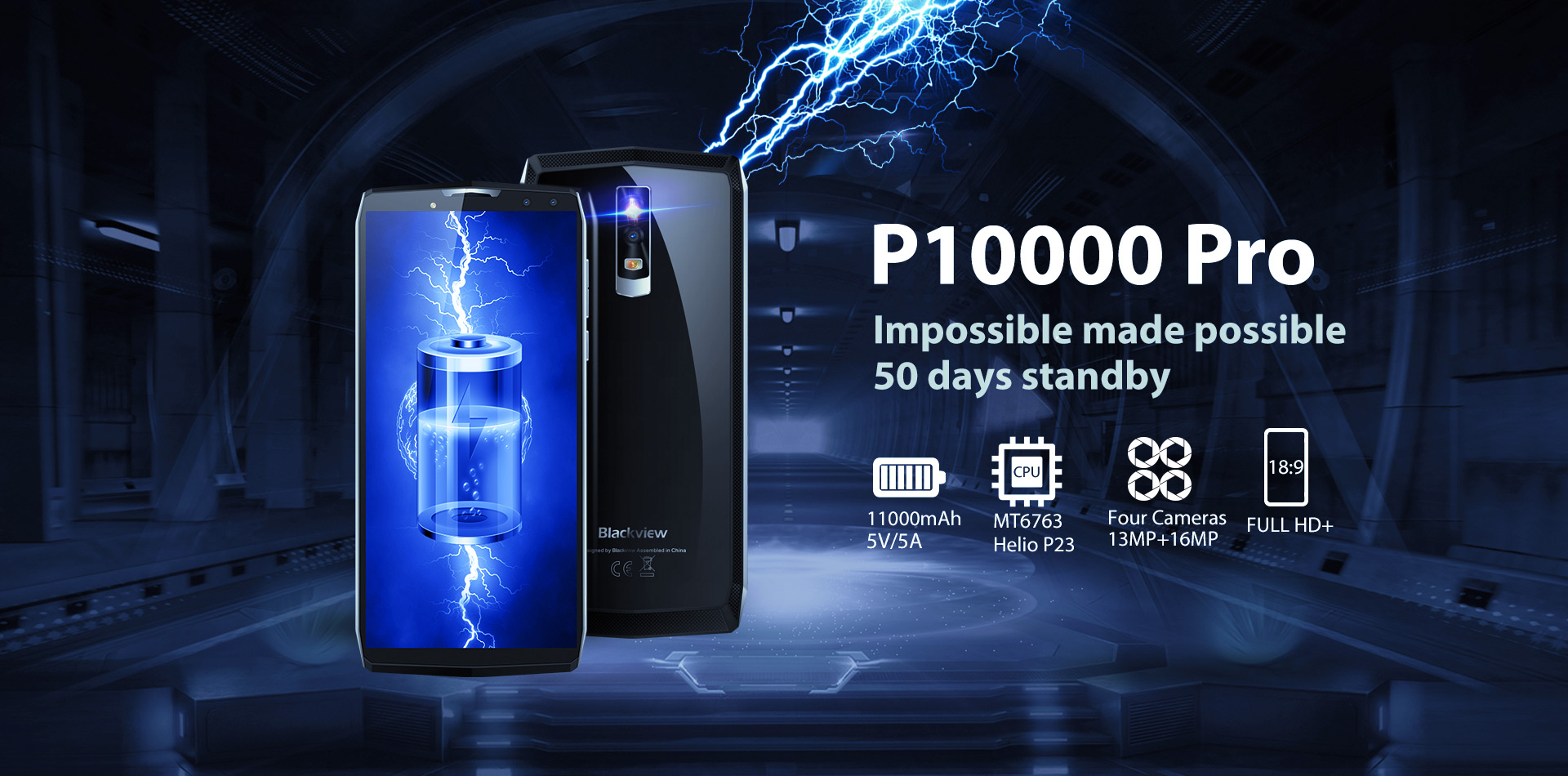 Smartphone Blackview P1000 Pro