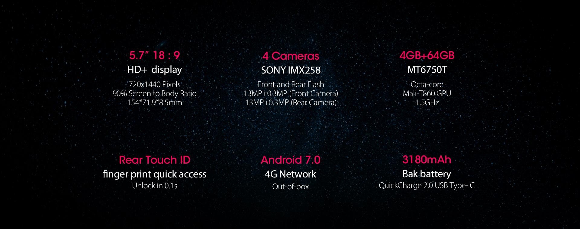 Promotion Blackview S8