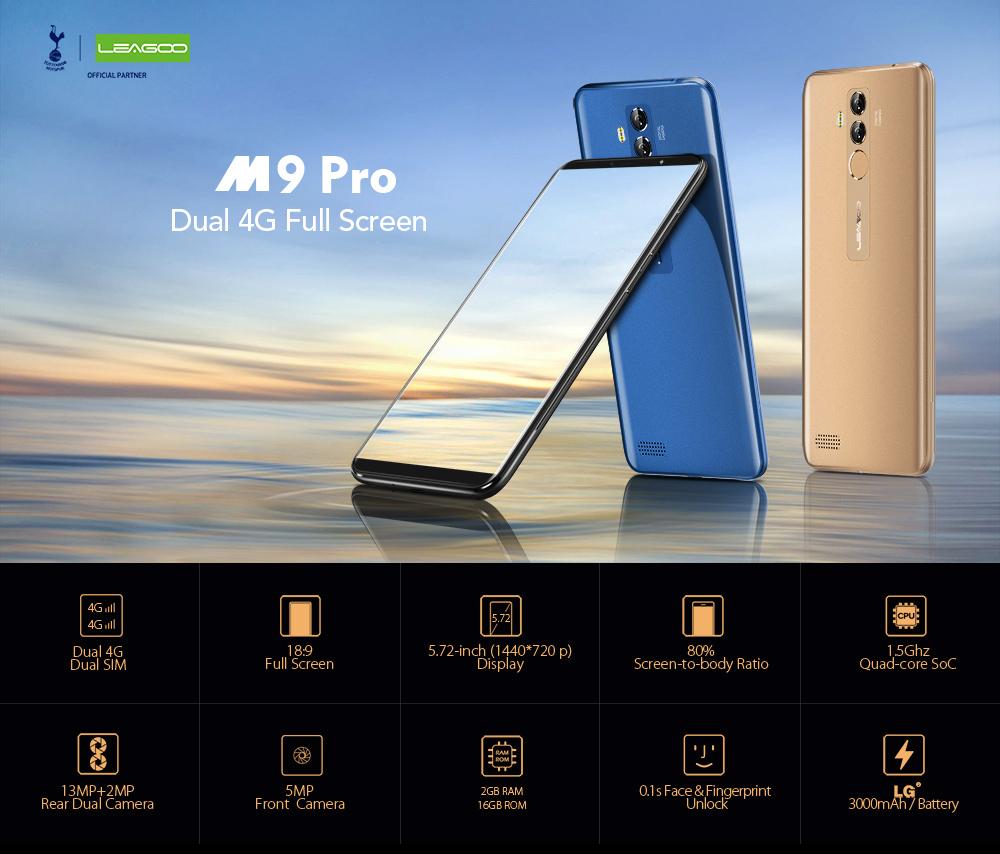 Smartphone Leagoo M9 PRO