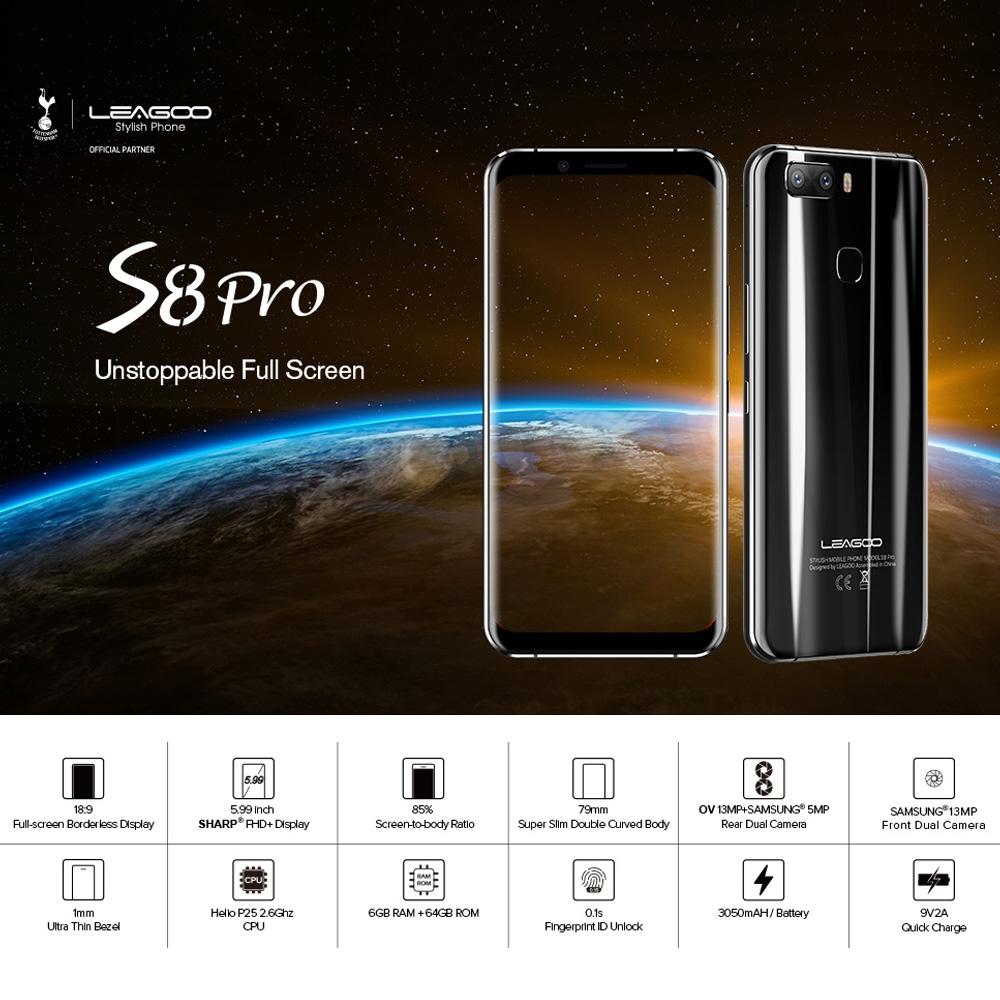 Smartphone Leagoo S8 Pro Pas cher