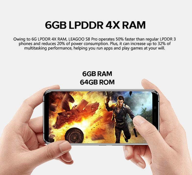 Commander Leagoo S8 PRO