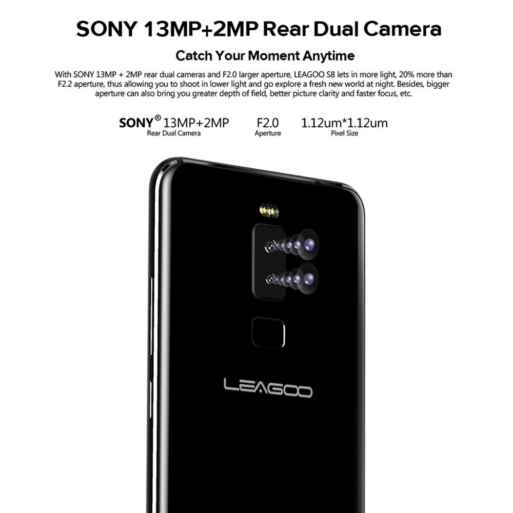 Caractéristiques Leagoo S8