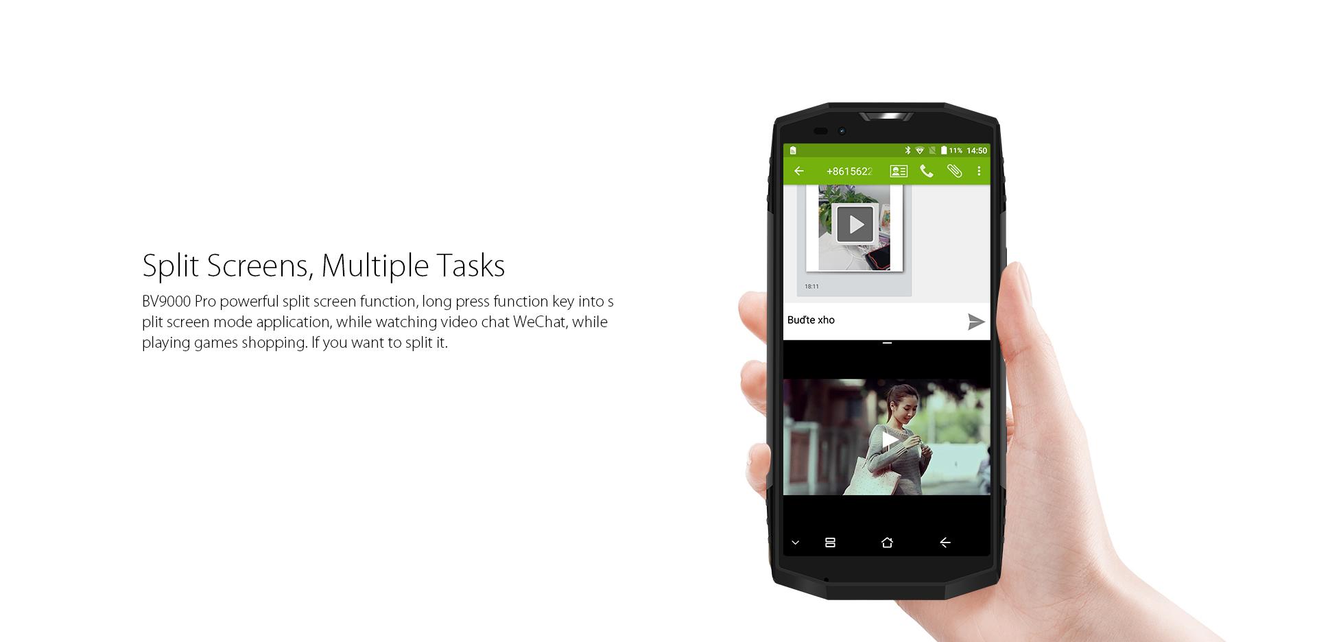 Smartphone Blackview BV9000 Pro