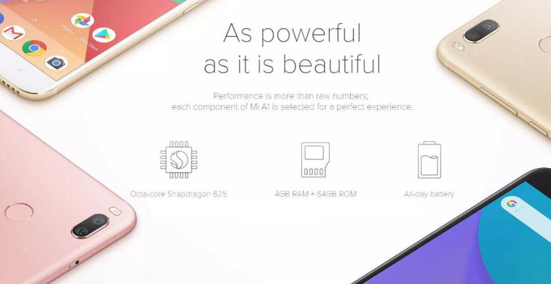 Discount Xiaomi Mi A1