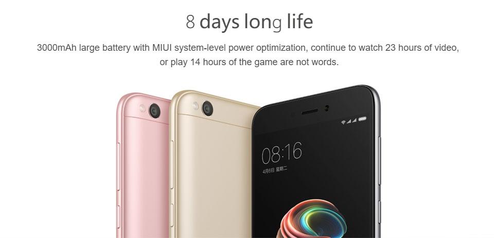 Discount Xiaomi Redmi 5A