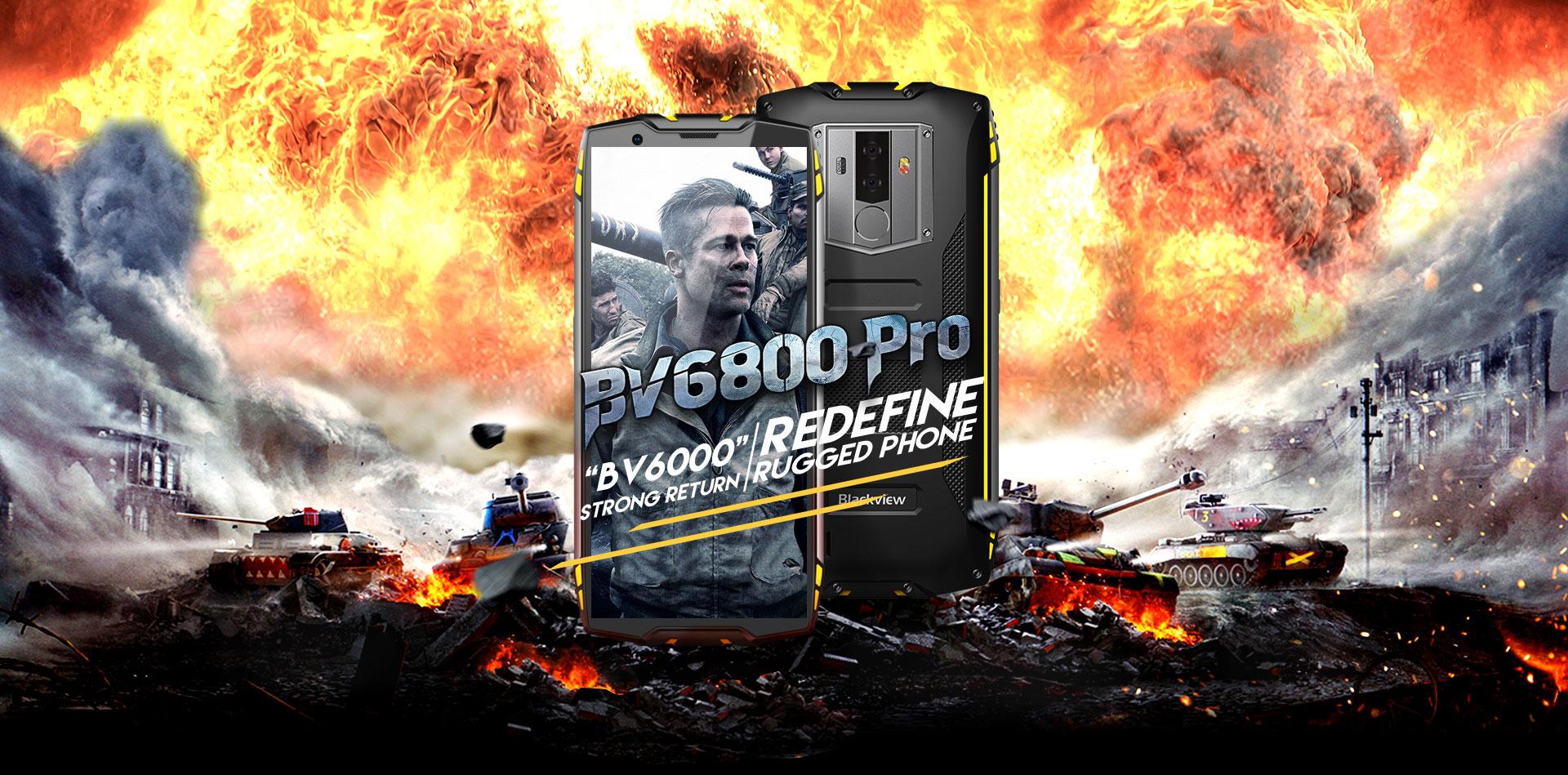 Smartphone Blackview BV6800 Pro