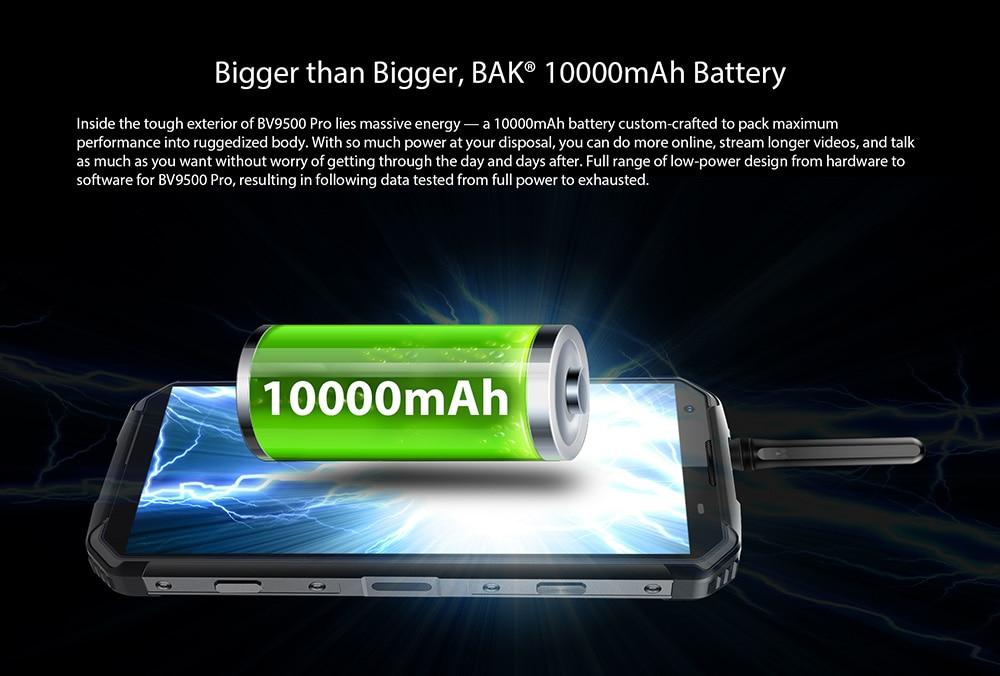 batterie Blackview BV9500 Pro