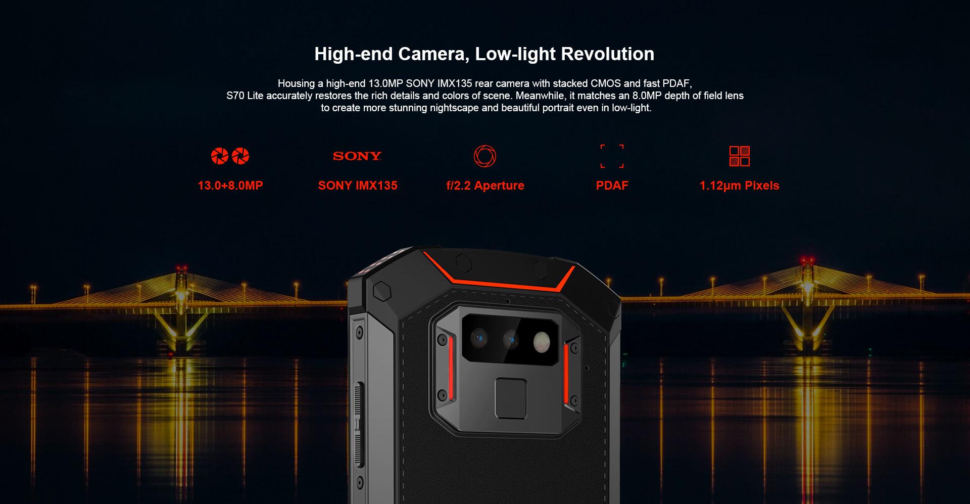 Smartphone Doogee S70 Lite pas cher