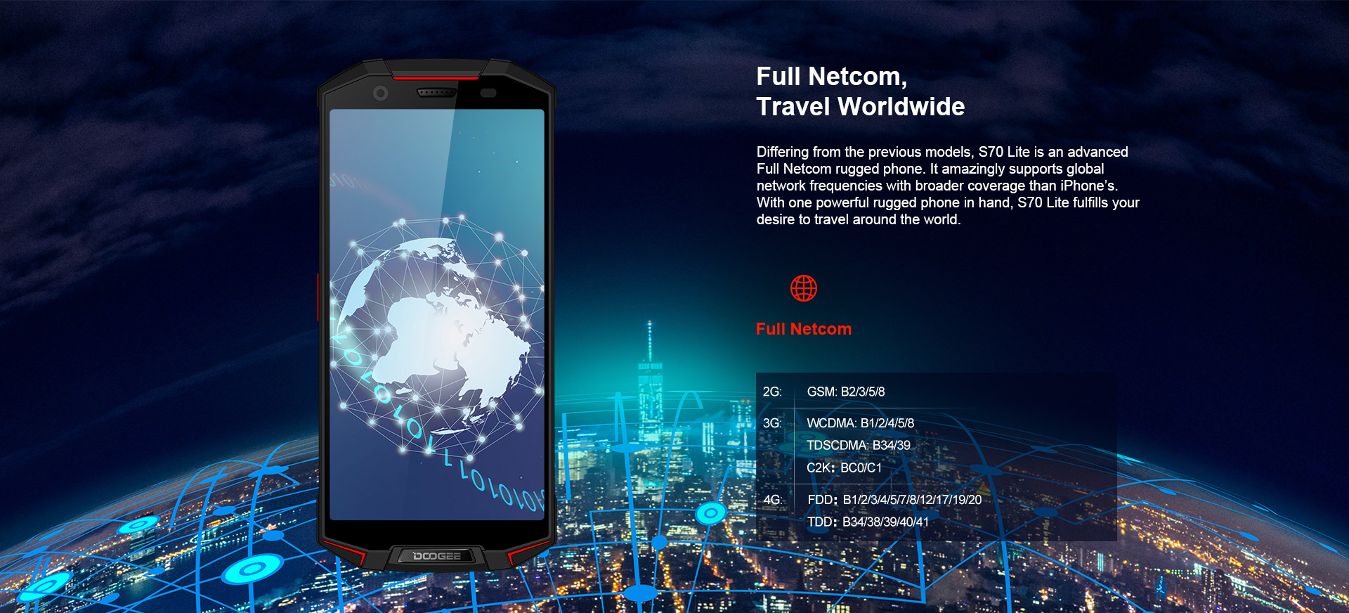 Soldes Smartphone Doogee S70 Lite