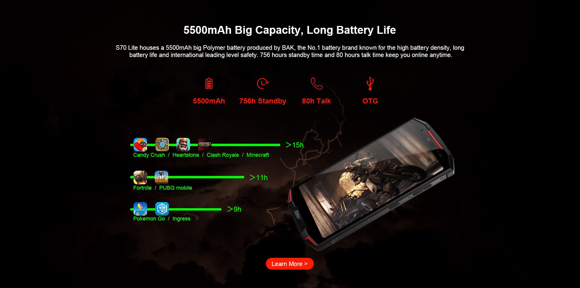 Batterie Doogee S70 Lite