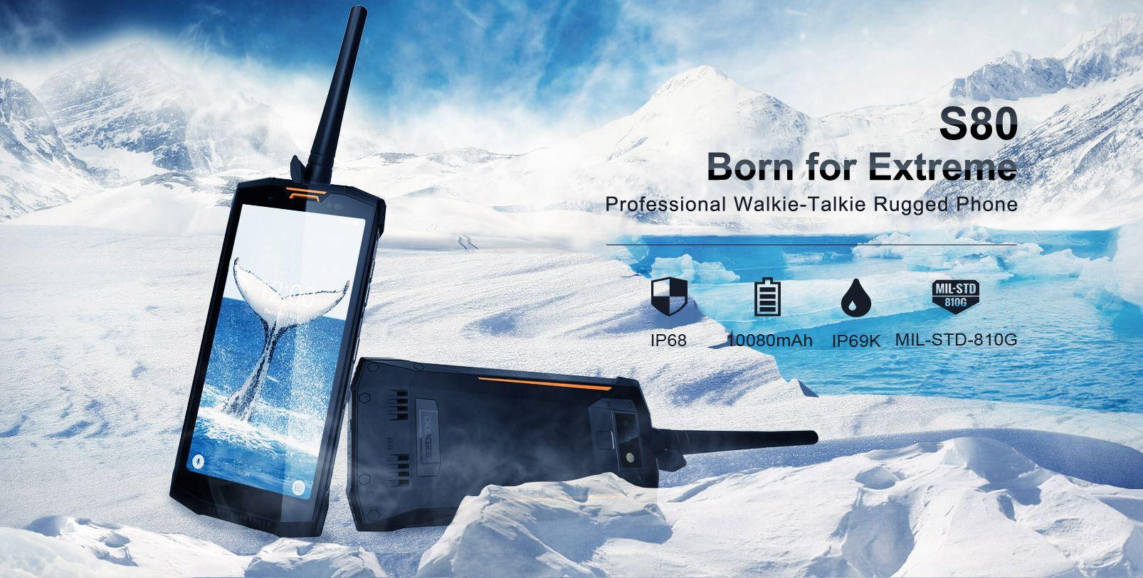 smartphone Doogee S80 pas cher