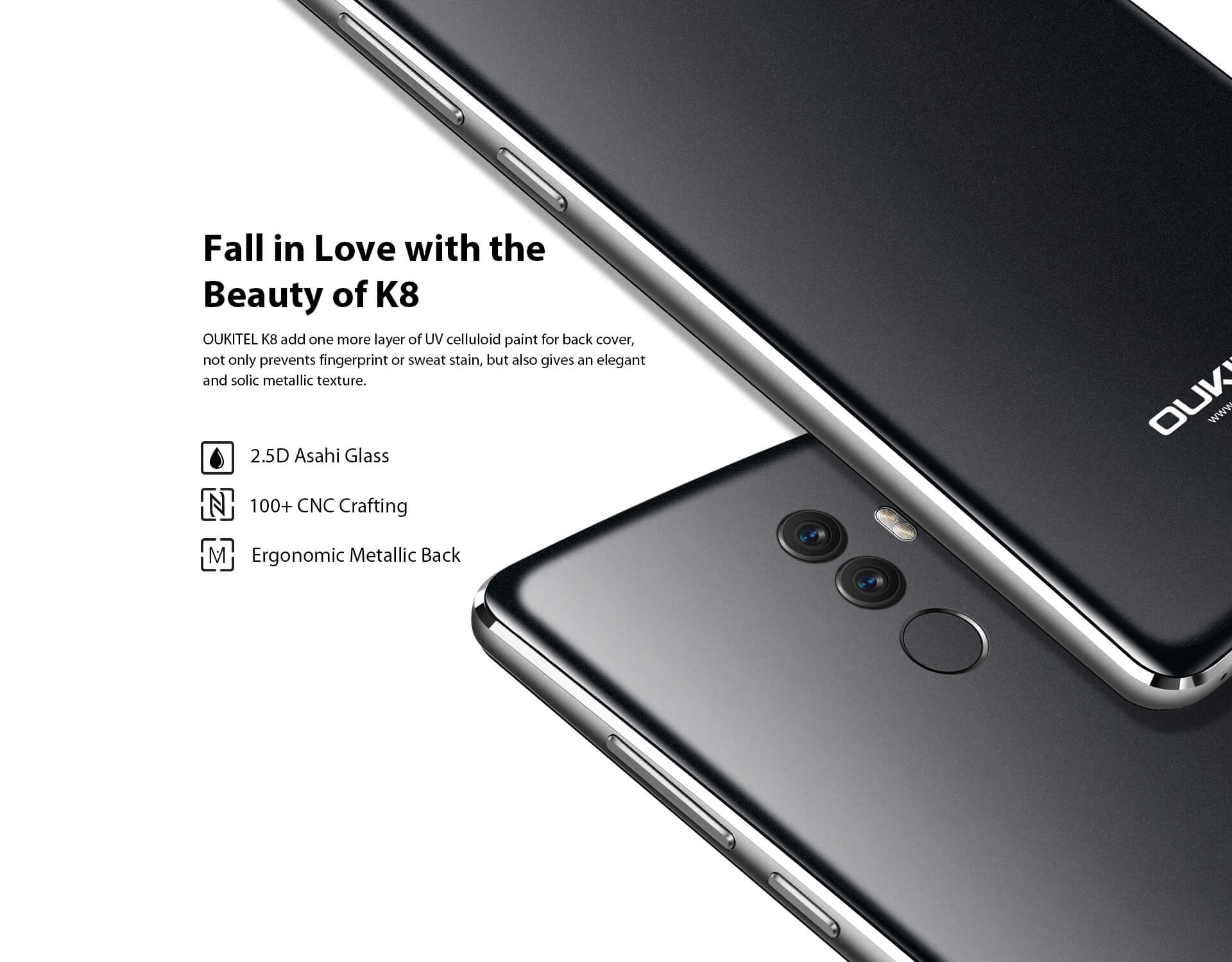 Oukitel K8 smartphone 4G