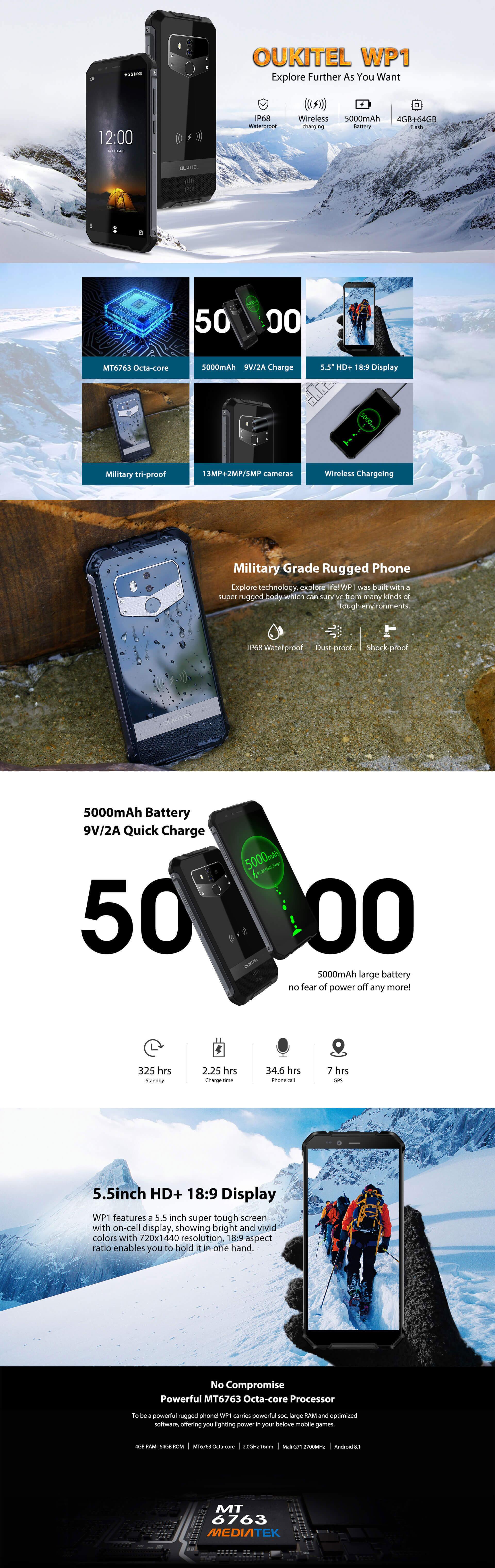 Acheter Oukitel WP1 pas cher