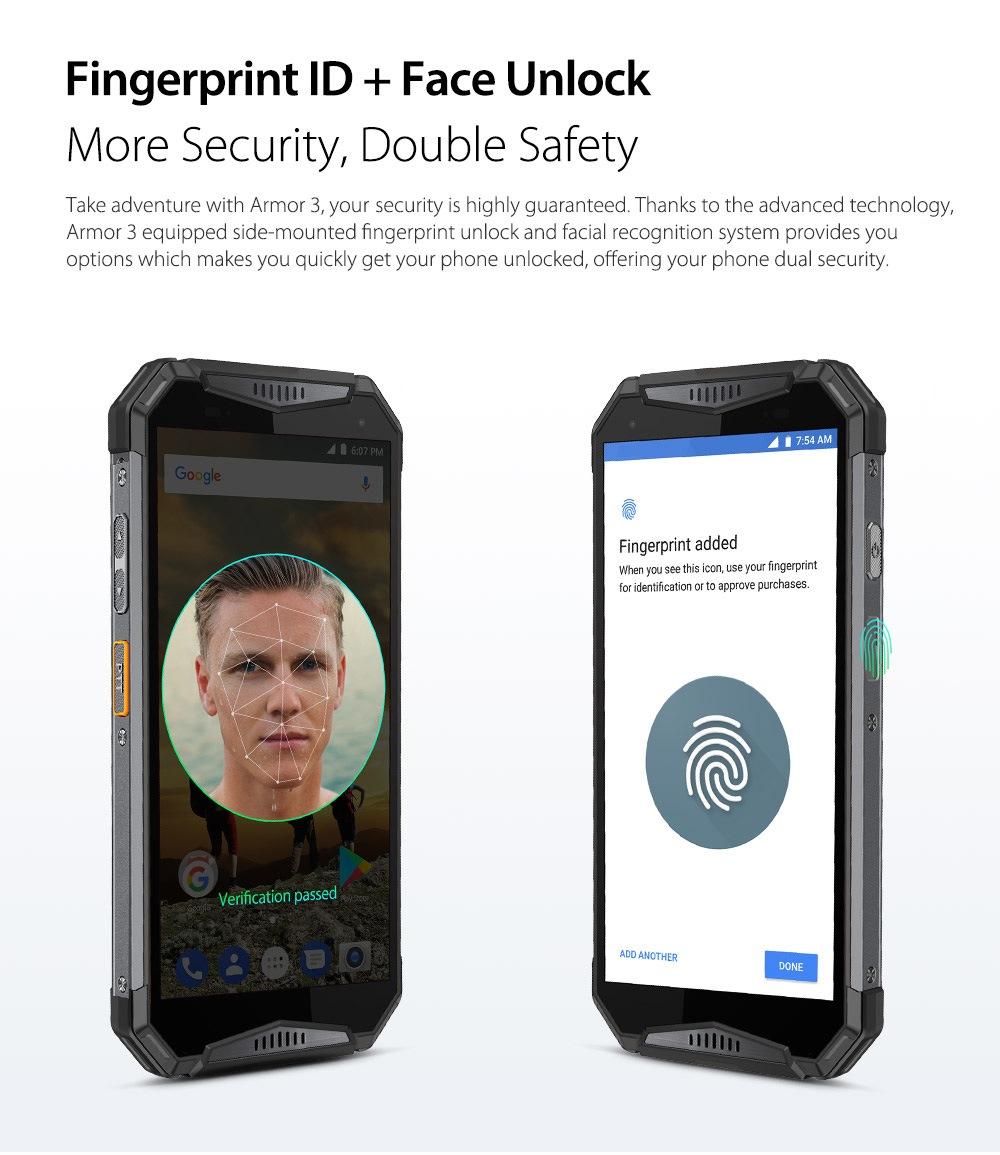 Smartphone Ulefone waterproof