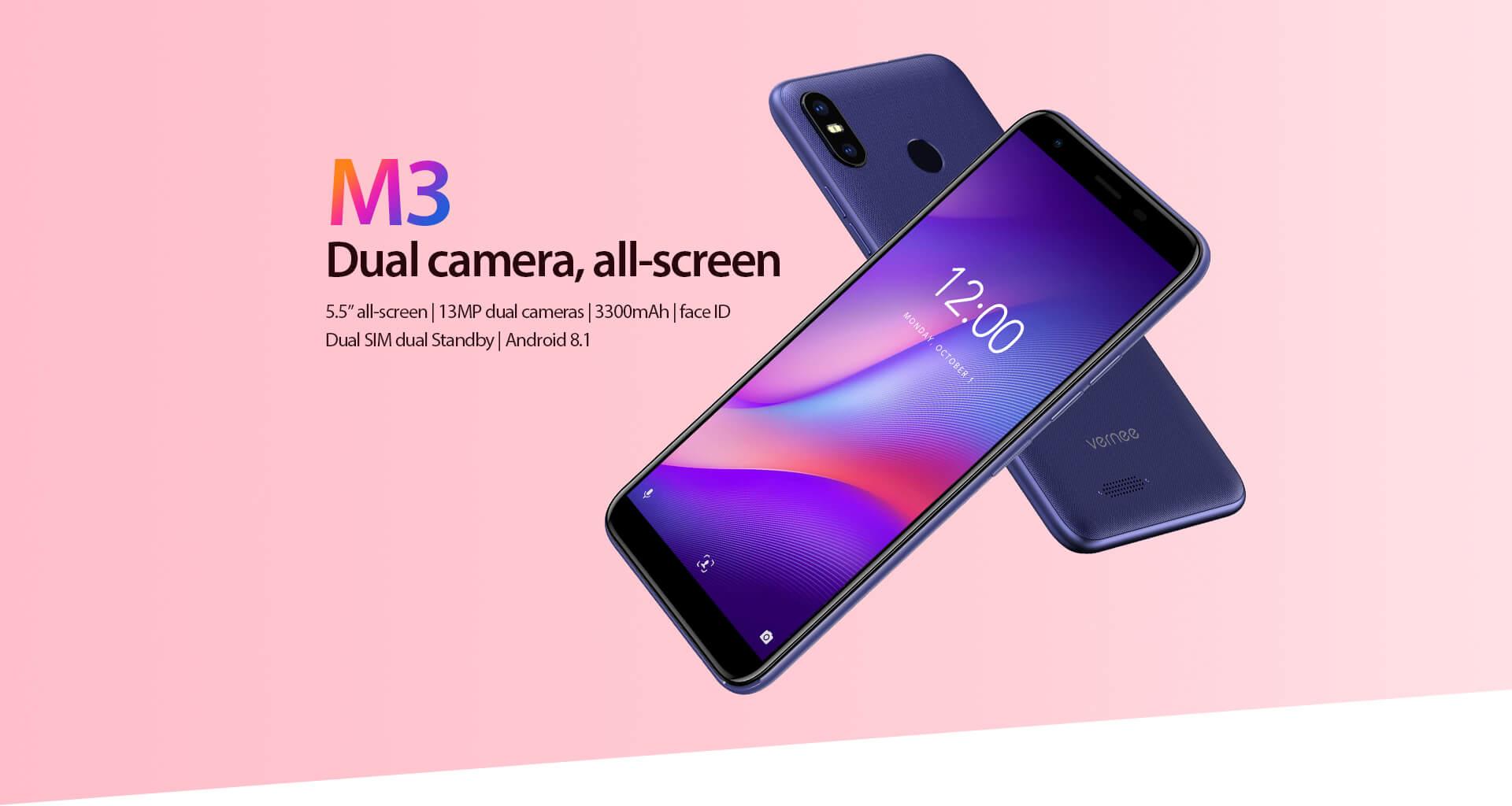Acheter Smartphone Vernee M3