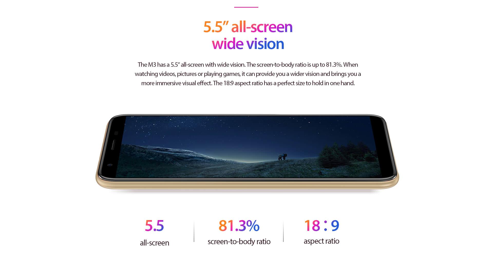 Smartphone Vernee M3 pas cher