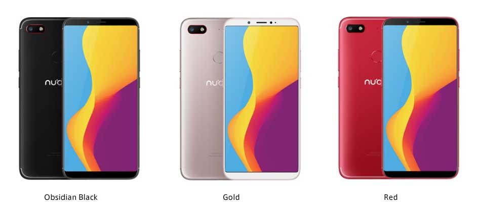 Smartphone Nubia V18 pas cher