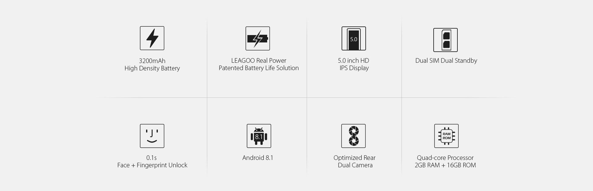 Acheter Leagoo Power 2