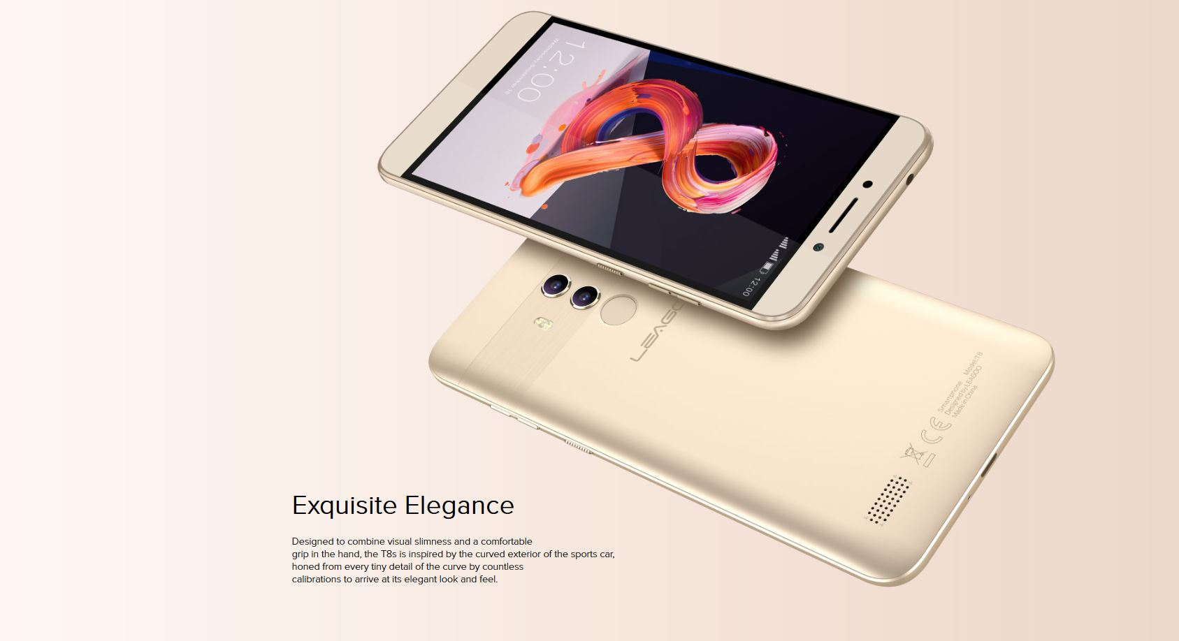 Leagoo T8S promotion