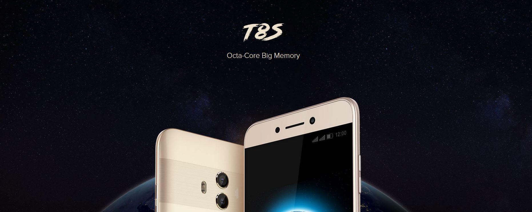 smartphone Leagoo T8S pas cher
