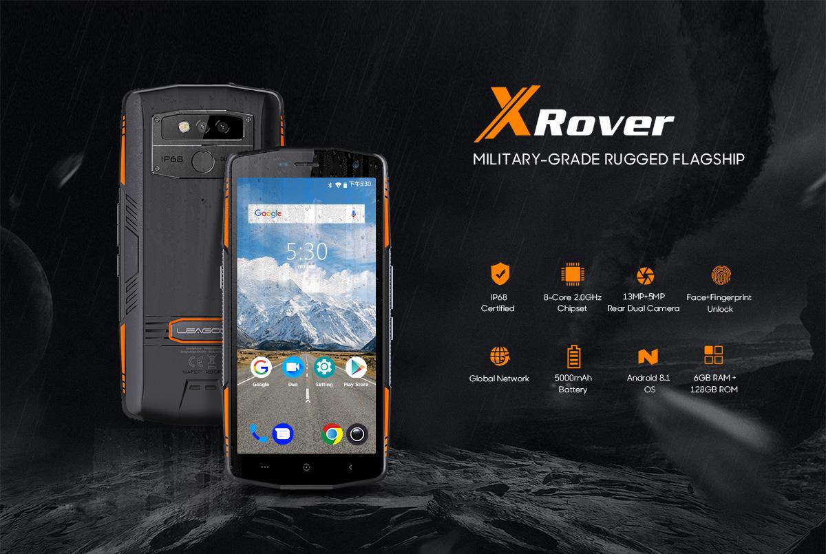 Smartphone Leagoo XRover pas cher
