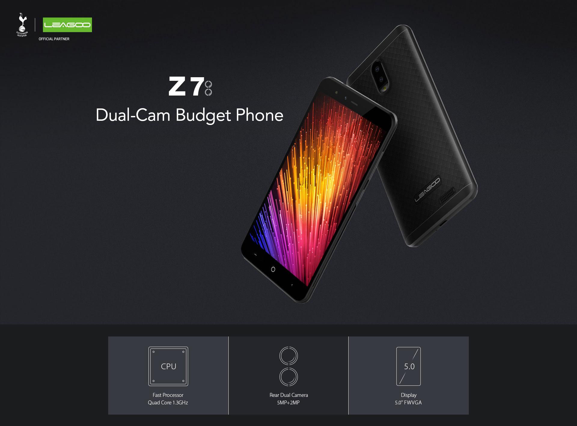 Acheter Leagoo Z7 pas cher