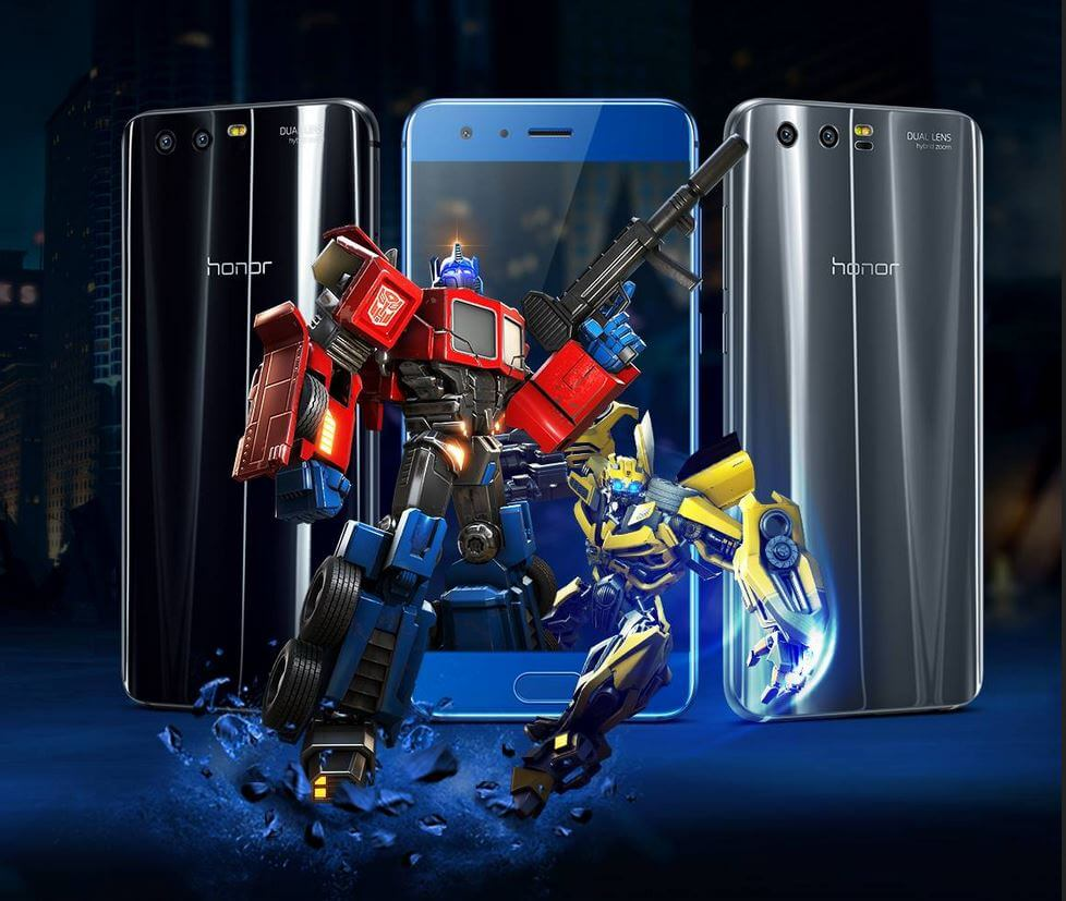smartphone chinois honor 9