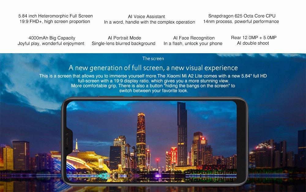 Xiaomi A2 Lite en solde