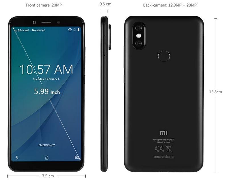 Discount Xiaomi Mi A2