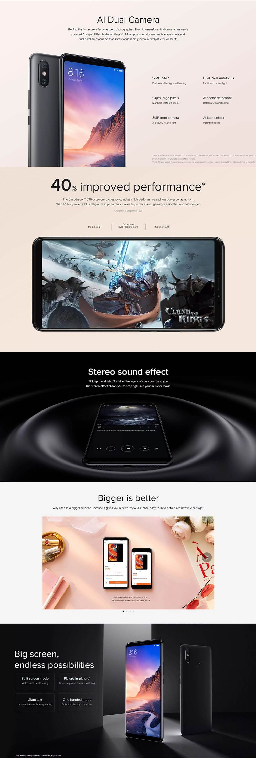 Discount Xiaomi Mi Max 3