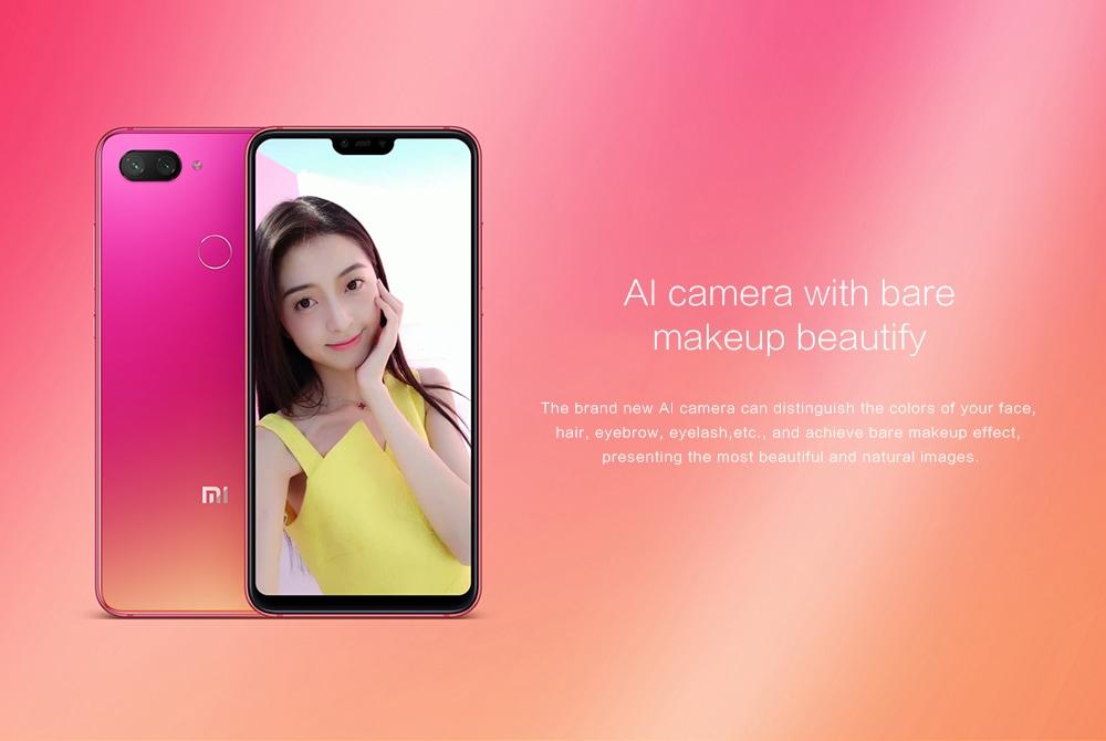 Caractéristiques Xiaomi Mi8 Lite