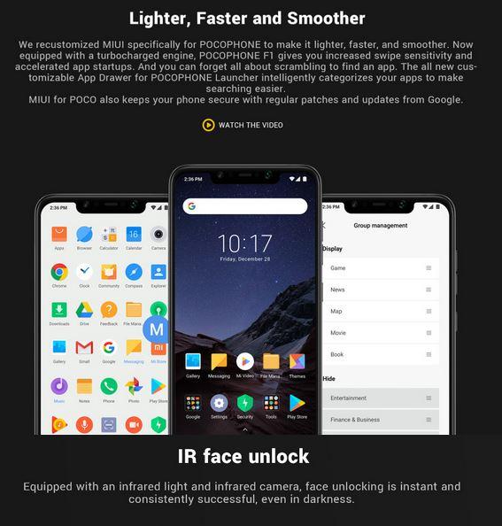 Xiaomi Pocophone F1 promo