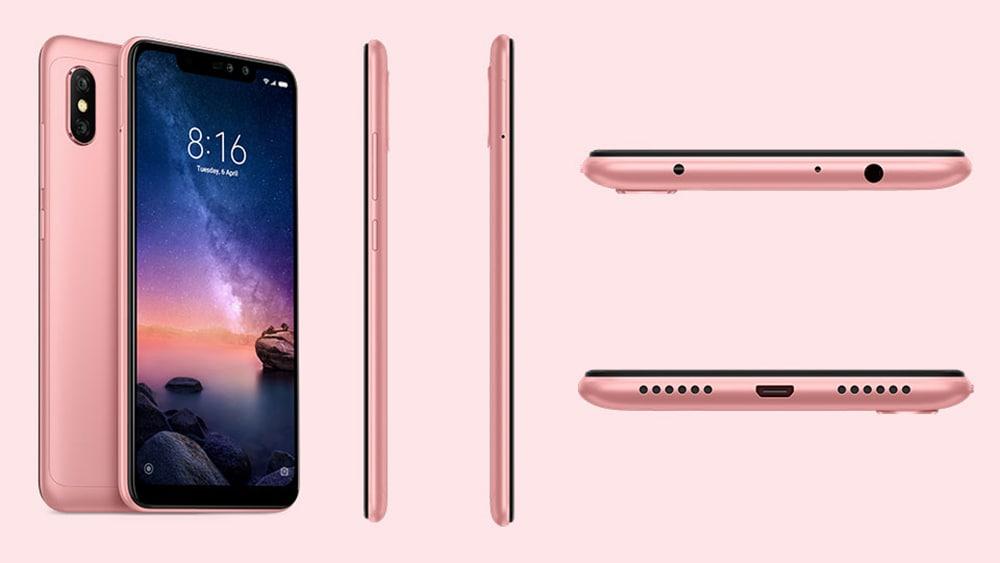 Caractéristiques Xiaomi Redmi Note 6 Pro