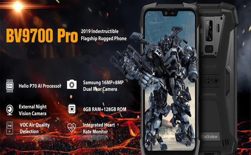 Blackview BV9700 Pro le portable incassable